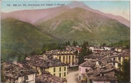 VIÙ (TO) - PANORAMA CON SFONDO IL CIVRARI- VIAGGIATA VEDI FOTO!!!! - Panoramic Views