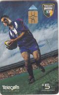 NEW ZEALAND(chip) - Telecom Rugby Super 12/Doug Howlett(041), Chip GEM3.3, 02/00, Used - Neuseeland
