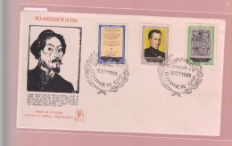 O) 1969 PERU, INCA GARCILASO DE LA VEGA -WRITER- HISTORIAN ORIGINS OF THE INCAS, FDC XF - Peru