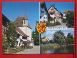 Greifensee (ZH) - Mehrbildkarte - ZH Zurich