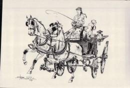 268     CHEVAL   ECRITE - Pferde