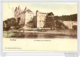 -50% . DURBUY ..-- Le Château . Nels 26 , N° 5 . Vers FLEURUS ( Mme Th. VANNES ) . Voir Verso . - Durbuy