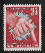 Austria: 1980 Fight Against Rheumatism MNH - 1945-.... 2. Republik