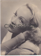 GRANDE PHOTO ANCIENNE - MARLENE DIETRICH - ACTRICE CINEMA AMERICAINE - HARCOURT - METRO GOLDWYN MAYER - Célébrités