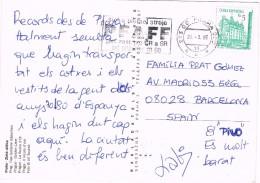 18782. Postal PRAHA (Republica Checa) 1995. Praha Franze Kafky - Tchéquie