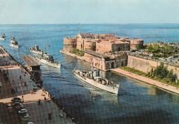 TARANTO - Ponte Girevole Aperto Con Passaggio Navi - Taranto
