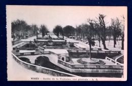 Nimes - Jardin De La Fontaine Vue Generale - Nîmes