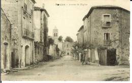CPA  ROUJAN, Avenue De L'Eglise 12973 - Other Municipalities
