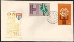 "B)1972 CUBA-CARIBE, SPORT, GAMES, OLYMPICS,  ATHLETE, EMBLEMS, ""H"" BASKETBALL,  1972 SUMMER OLYMPICS, MUNICH, AUG 26-SEP - Cuba"