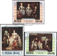 Dubai 375-377 (kompl.Ausg.) Gestempelt 1970 Tag Des Kindes - Dubai