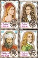Dubai 397-400 (kompl.Ausg.) Gestempelt 1971 Persönlichkeiten - Dubai