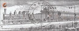 Guyana Block31 (kompl.Ausg.) Gestempelt 1989 Rotkreuzzug - Guyana (1966-...)