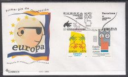 España Spain 4261/62 Año 2006 Europa, SPD FDC SOBRE PRIMER DIA - Sin Clasificación
