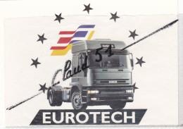 Camion :EUROTECH  IVECO (PTC 19 T. - PTR 44t) - Cartoline