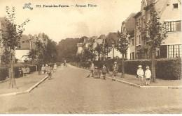 FOREST-LES-FOYERS : Avenue Fléron -  RARE CPA - Forest - Vorst