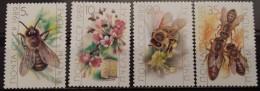 SSSR, 1989, Mi: 5950/53 (MNH) - Honeybees