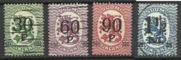 FINLAND FINNLAND 1921 Michel 107 - 110 */o - Finland