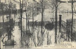 RUEIL.- La Crue De La Seine (Janvier-Fevrier 1910) - Un Jardin Avenue Victor_Hugo ( 43) - France