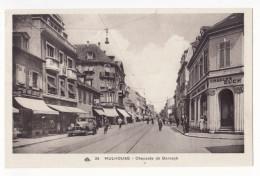 CPA 68 - MULHOUSE - CHAUSSEE DE DORNACH (animée) - HAUT RHIN - Mulhouse
