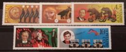 SSSR, 1989, Mi: 5984/88 (MNH) - Ungebraucht