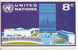 United Nations   8c   Carte Postal - Interi Postali
