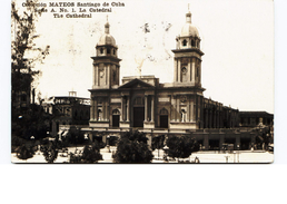 The Cathedral Santiago Cuba 1929 Smoke Cuban Cigars Slogan Tobacco - Postcards