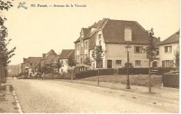 392. FOREST : Avenue De La Verrerie - RARE CPA - Vorst - Forest