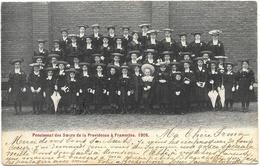 Frameries NA2: Pensionnat Des Soeurs De La Providence 1905 - Frameries