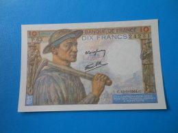 10f Mineur 13-1-1944 F8/10 SUP - 1871-1952 Anciens Francs Circulés Au XXème