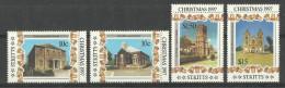 ST.KITTS. CHRISTMAS  1998,CHURCHES  SET  MNH - Kerken En Kathedralen