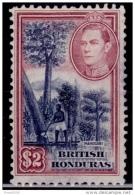 British Honduras, 1938, Mahogany Cutting, $2.  Used - Britisch-Honduras (...-1970)