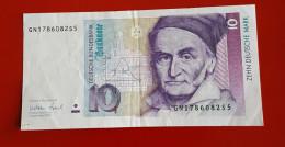 ALLEMAGNE ZEN DEUTSCHE MARK 1 SEPTEMBRE 1999 Voir Les 2 Photos - 10 Deutsche Mark