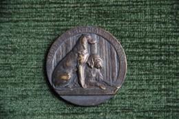 Médaille De Société Centrale Canine Chasse, PARIS, 2 ème Prix,  Exposition De 1938, Graveur FATH - Professionnels / De Société