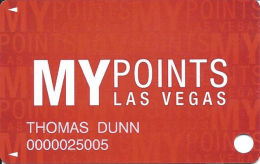 Fifth Street Gaming Casinos - Las Vegas, NV - Slot Card - Casino Cards