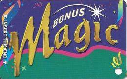 Feather Falls Casino - Oroville, CA - Slot Card - Dark Purple  (BLANK) - Casino Cards