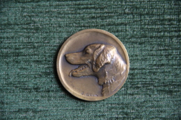 Médaille De La Société Canine Du SUD OUEST - TOULOUSE, EPAGNEUL,  Graveur GRUN - France