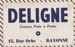 400 BUVARD  DELIGNE COUTURE PRETE A PORTER BAYONNE - Kleidung & Textil