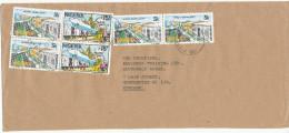 Nigeria Cover Sent To England 1987 - Nigeria (1961-...)