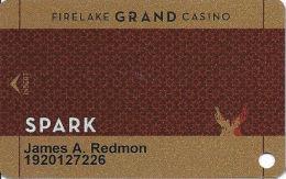 FireLake Grand Casino - Shawnee, OK - Slot Card - Casino Cards
