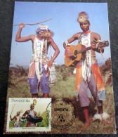 Carte Maximum 1984/07/08 - TRANSKEI - Traditional Custom - Young Musicians - Afrique Du Sud (1961-...)