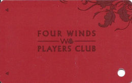 Four Winds Casino - Michigan - Slot Card - Players Club - No Specific Locations On Back (BLANK) - Casino Cards