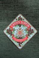 "ETIQUETTE "" CASSIS SURFIN "", BENOIT SERRES, Distillateur à VALENCE D'AGEN. - Other"