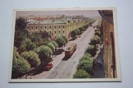 RUSSIA. KALININ CITY (TVER). Sovetskaya  Street  (w Tram) OLD USSR PC 1964 TRAMWAY - Tramways
