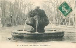 13 - AIX En PROVENCE - La Fontaine D'eau Chaude - Aix En Provence
