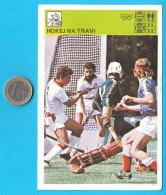FIELD HOCKEY - Yugoslav Card Svijet Sporta * LARGE * Feldhockey Hockey Sur Gazon Campo Da Hockey Sobre Hierba Em Campo - Sports
