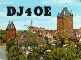 Amateur Radio QSL Card - DJ4OE - Xanten Germany - 1976 - 2 Scans - Radio Amateur