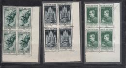 Vaticano - 1936 - Stampa Cattolica In Quartine ** (numero Di Cilindro 1012 Su 5 Lire) - 4 Scan - Nuovi