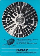 Amateur Radio QSL Card - DJ3AZ - Ingelsberg, Germany - 1974 - 2 Scans - Radio Amateur