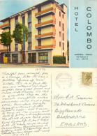 Hotel Colombo, Marghera, VE Venezia, Italy Postcard Posted 1972 Stamp - Venezia