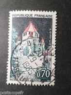 FRANCE 1963 Timbre 1392Ab, Variété TOIT En FLAMME, PROVINS, Oblitéré, CANCEL - Oblitérés